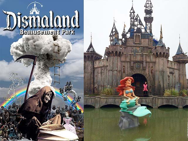 """Kì lạ phiên bản """"lỗi"""" của công viên Disneyland"""