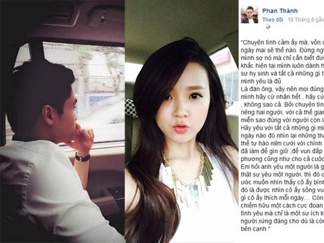 Phan Thành trải lòng sau 4 tháng chia tay Midu