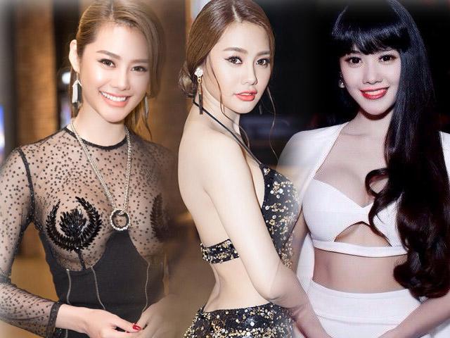 Từ khi sửa ngực, á hậu Linh Chi mặc siêu gợi cảm