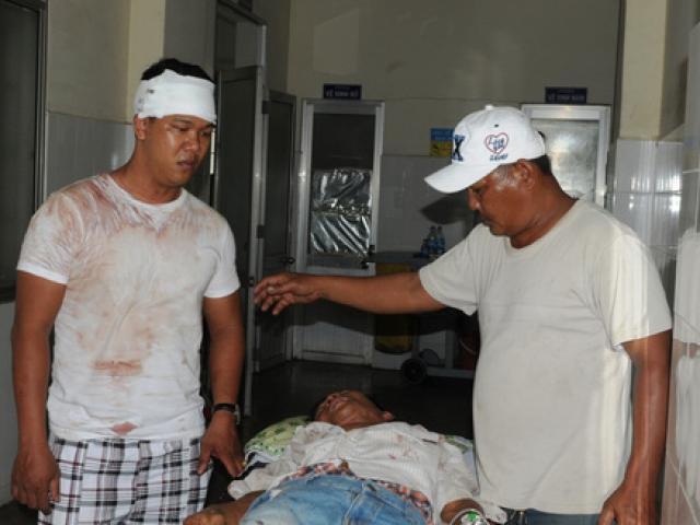 Hỗn chiến giành đất, 7 người họ hàng nhập viện