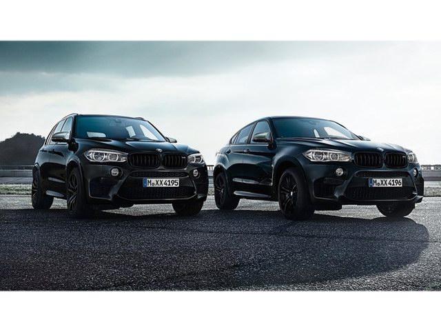 Lộ diện BMW X5 M và X6 M bản đen bóng đặc biệt