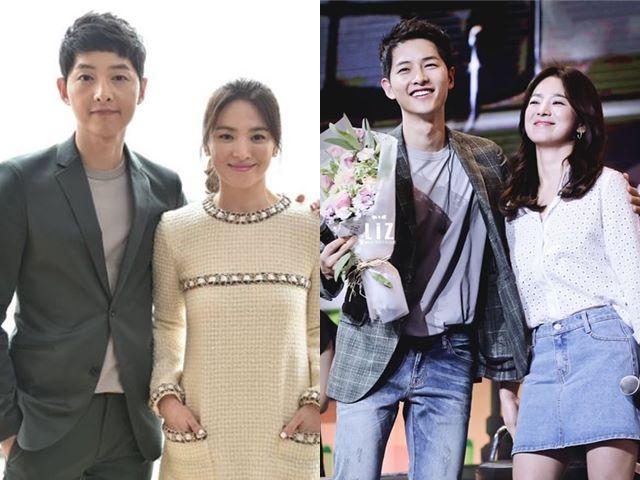 Mê mệt phong cách cặp đôi Song Hye Kyo - Song Joong Ki