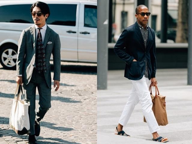 Đừng vội cho là điệu đà, đàn ông manly bây giờ cũng rất cần túi xách!