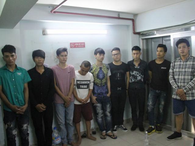 """Cảnh sát nổ súng ngăn 2 nhóm """"xã hội đen"""" thanh toán nhau ở SG"""