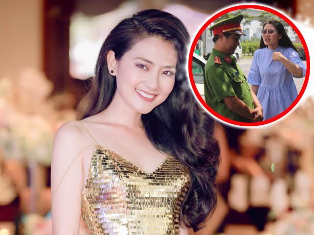 Dân mạng chê bai diễn viên Ngọc Lan vì đã sai còn to tiếng với CSGT