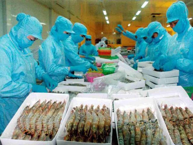 Sốc: Mỹ bất ngờ giảm 5 lần mức thuế bán giá với tôm Việt Nam