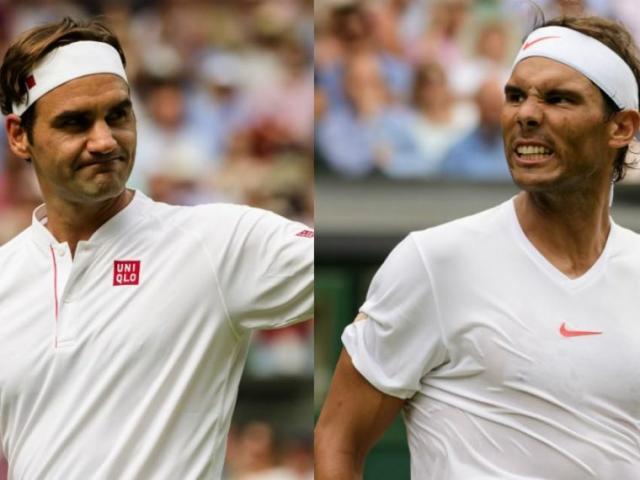 Bảng xếp hạng tennis 1/7: Wimbledon là thời cơ để Federer vượt mặt Nadal