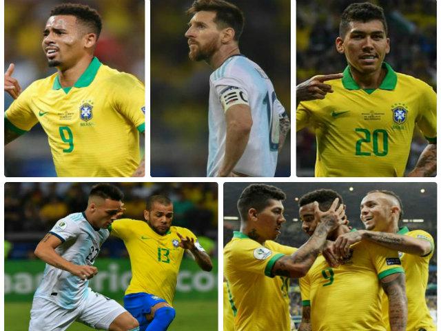Kinh điển Brazil - Argentina, bán kết Copa America: Messi chết lặng, dàn SAO Ngoại hạng rực rỡ