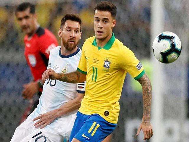 """Brazil đấu Argentina: Messi vùng vẫy, song tấu """"sắc lẹm"""" (Bán kết Copa America)"""