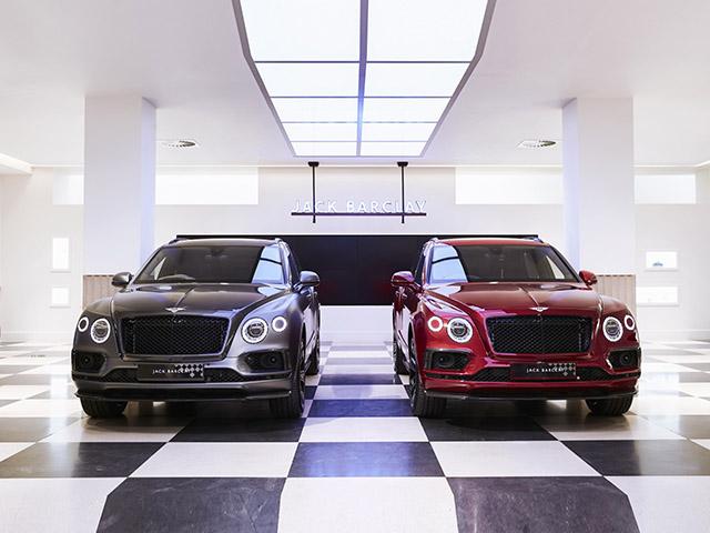 Bentley Bentayga mừng sinh nhật tuổi 100 bằng hai phiên bản Businessman và Sportsman