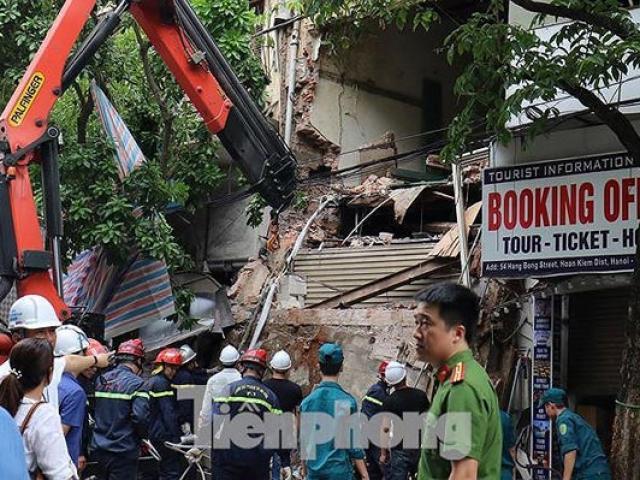 Nhìn lại những vụ sập nhà, biệt thự cổ kinh hoàng ở Hà Nội