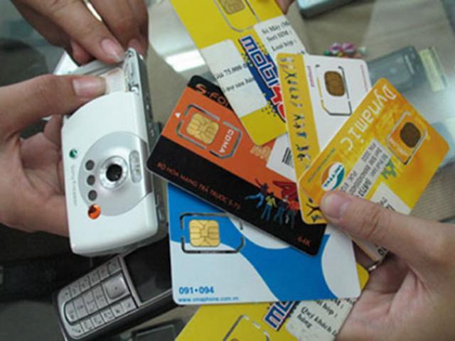 Sử dụng SIM di động không chính chủ có thể bị xử phạt lên đến 500.000 đồng
