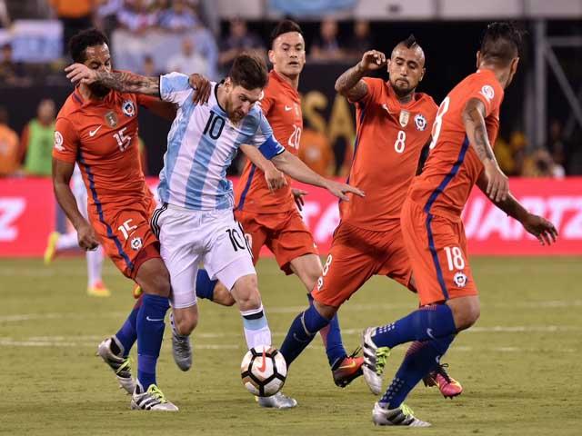 Chi tiết bóng đá Argentina - Chile: Bảo toàn thành công cách biệt mong manh (KT)