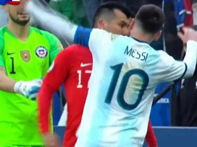 Sững sờ Messi: Xô xát đối thủ và ăn thẻ đỏ, ê chề rời Copa America