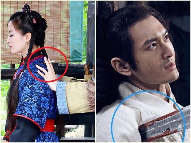 Cười không ngừng với sạn hài hước trong phim cổ trang Trung Quốc