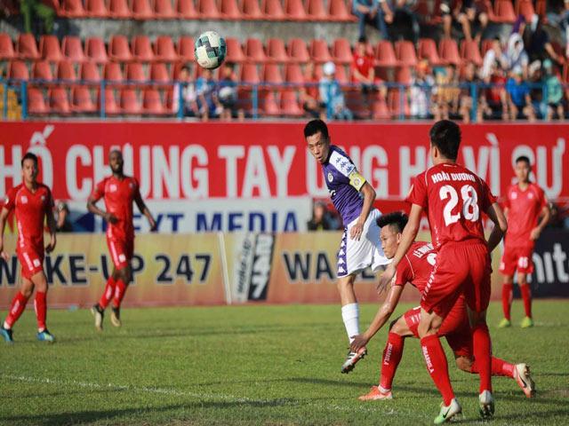 Trực tiếp bóng đá Hải Phòng - Hà Nội: Quyết tâm tìm bàn gỡ