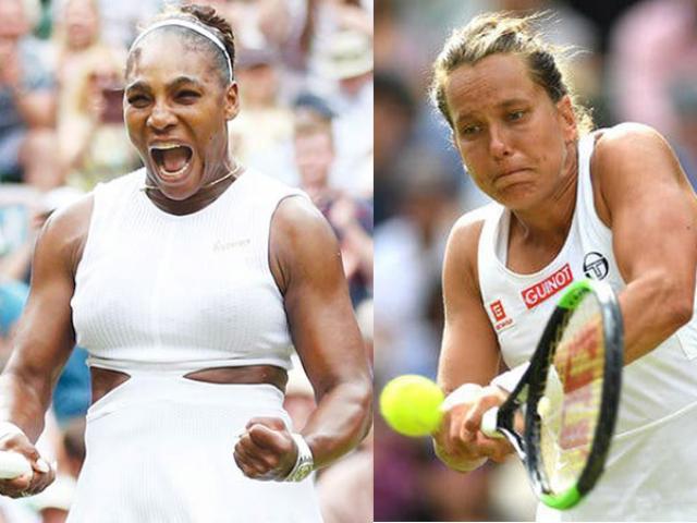"""Trực tiếp tennis Serena - Strycova: """"Chị đại"""" Grand Slam thử tài """"Ngựa ô"""" (bán kết Wimbledon)"""