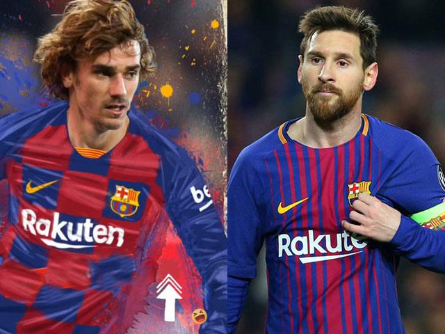 """""""Bom tấn"""" chuyển nhượng Griezmann 120 triệu euro: Từng gieo sầu Barca - Messi"""