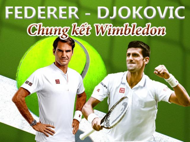 Federer – Djokovic, chung kết Wimbledon: 1 núi không thể có 2 hổ
