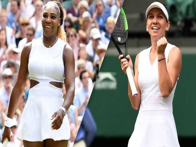 Video, kết quả tennis Serena - Halep: 4 break thần sầu, đăng quang xứng đáng chung kết Wimbledon nữ