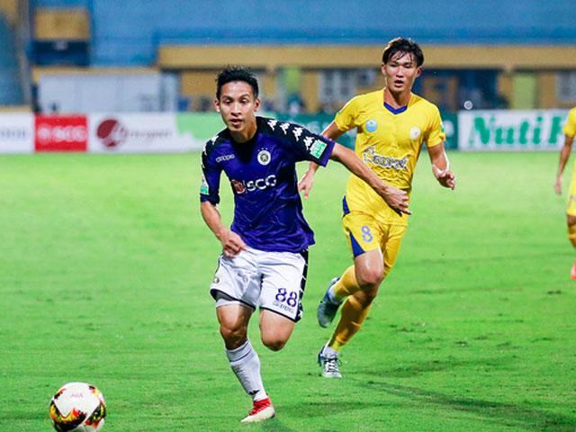 Trực tiếp bóng đá Hà Nội - Khánh Hòa: Cơ hội liên tiếp