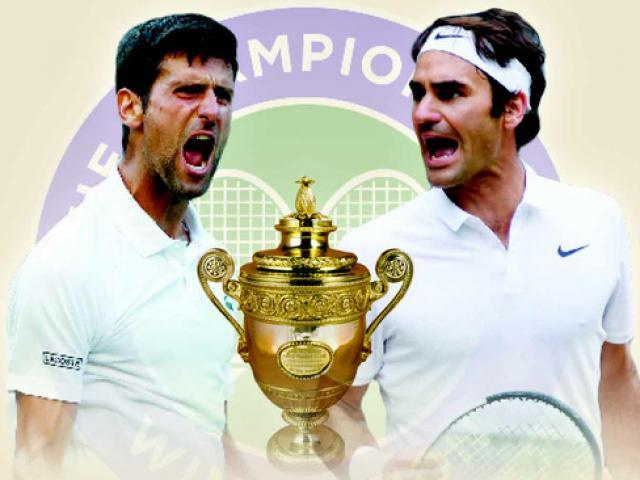 """Sững sờ Wimbledon: Federer thua """"tàn nhẫn"""" vì Djokovic """"quái chiêu"""""""