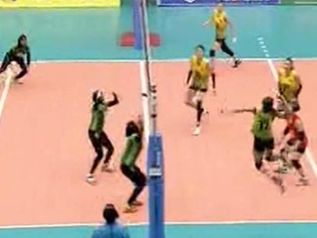 Bóng chuyền nữ U23 Việt Nam - U23 Maldives: Bàng hoàng tỷ số 75-5
