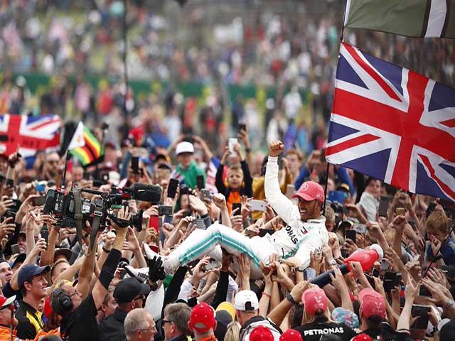 Đua xe F1, British GP: Những màn rượt đuổi thót tim, kỷ lục mới cho Hamilton