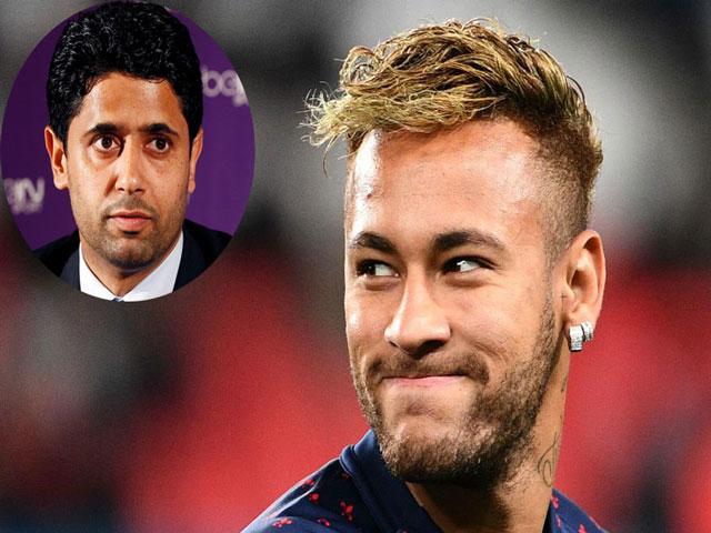 """Neymar thách thức PSG: Tỷ phú Ả Rập nổi điên phạt cực nặng, MU """"giải cứu"""""""