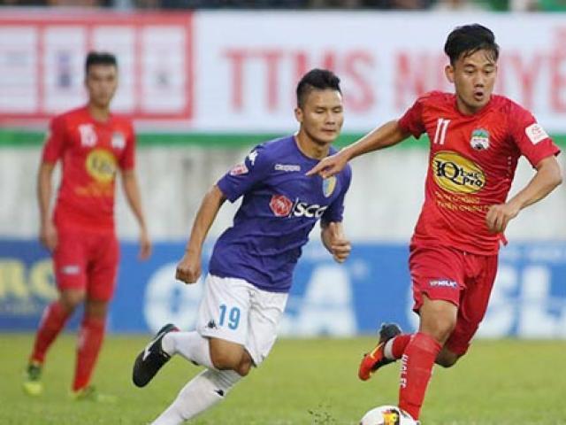 Trực tiếp bóng đá Hà Nội - HAGL: Mơ đầu bảng, Quang Hải đọ sức Xuân Trường