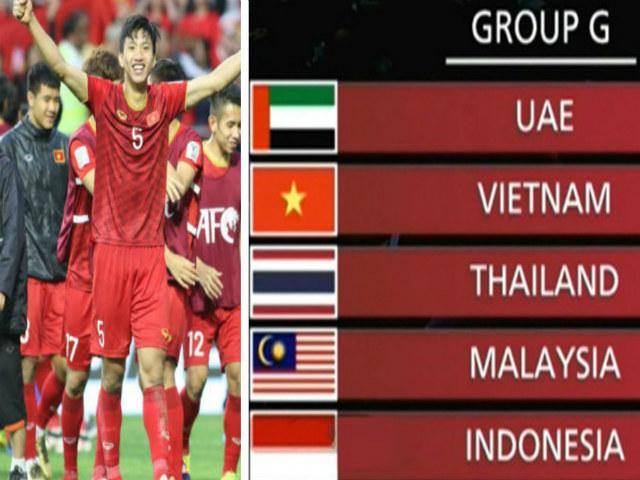 """Việt Nam """"vua"""" Đông Nam Á đấu 3 kình địch vòng loại World Cup: Làm gì để đi tiếp?"""