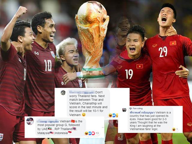Fan Việt Nam - Thái Lan đại chiến, dự đoán tỉ số 10-1: Rực lửa vòng loại World Cup