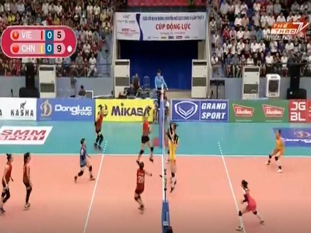 U23 Việt Nam - U23 Trung Quốc: Tuyệt đỉnh set 3, Thanh Thúy nỗ lực