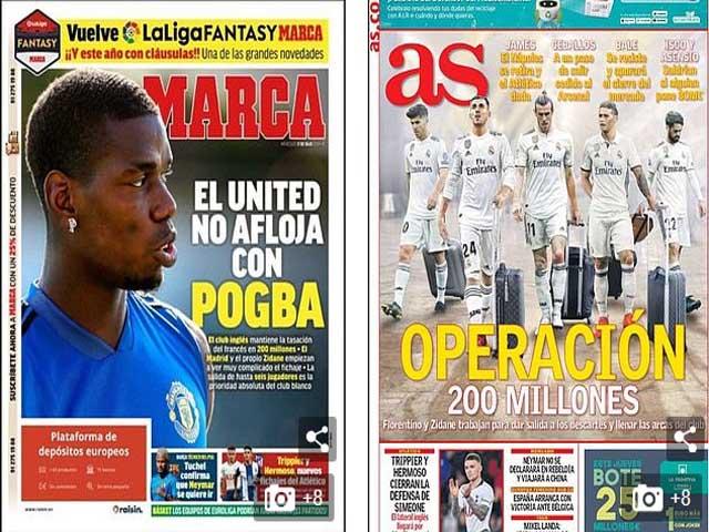 """Pogba tỏa sáng ở MU: Real - Juventus khao khát, nổ """"siêu bom tấn"""" 200 triệu euro"""
