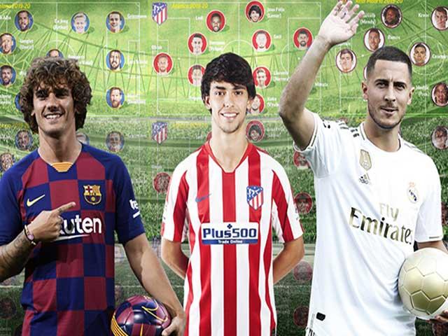 """La Liga """"đốt tiền"""" đua vô địch tam mã: Đọ sức siêu hàng công 1,3 tỷ euro"""