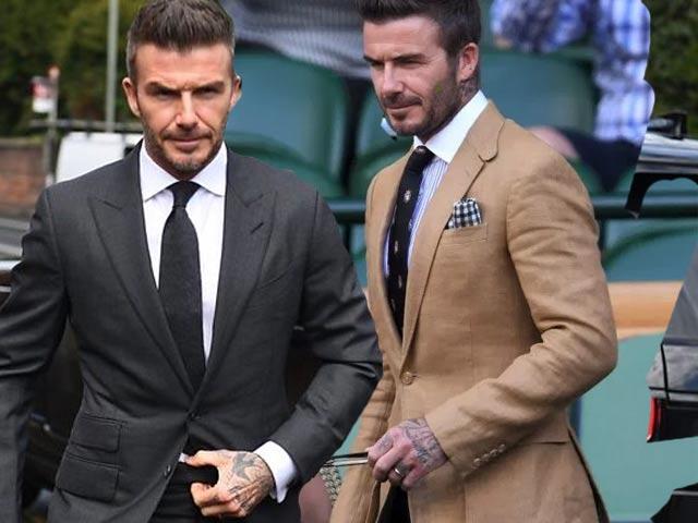 Vì sao David Beckham thường không bao giờ cài cúc cuối của bộ suit?