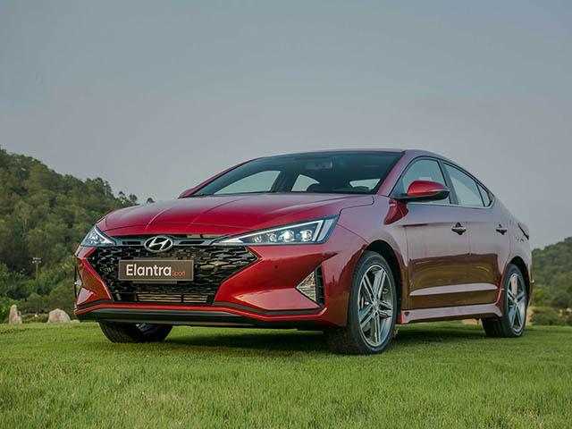 Cập nhật bảng giá xe Hyundai Elantra 2019 mới nhất tại đại lý