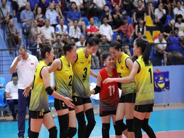 U23 nữ Việt Nam - U23 Kazakhstan: 4 set nghẹt thở, vé vàng bán kết