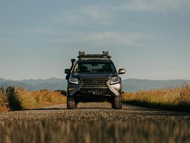 Lexus GXOR phiên bản concept mạnh mẽ với khả năng off-road đỉnh hơn