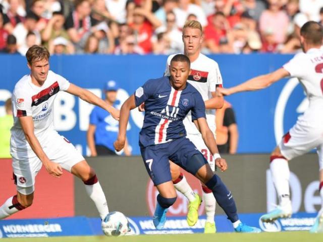 Nurnberg - PSG: Mbappe phô diễn đẳng cấp, sai lầm bị trừng phạt