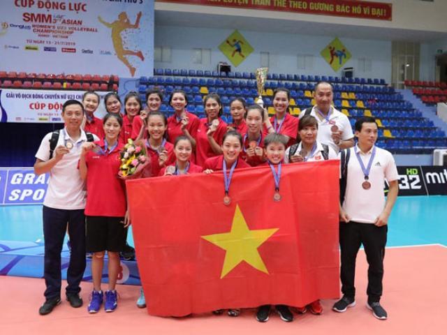 Bóng chuyền nữ U23 Việt Nam đả bại Thái Lan: Trận thắng ngỡ ngàng Đông Nam Á