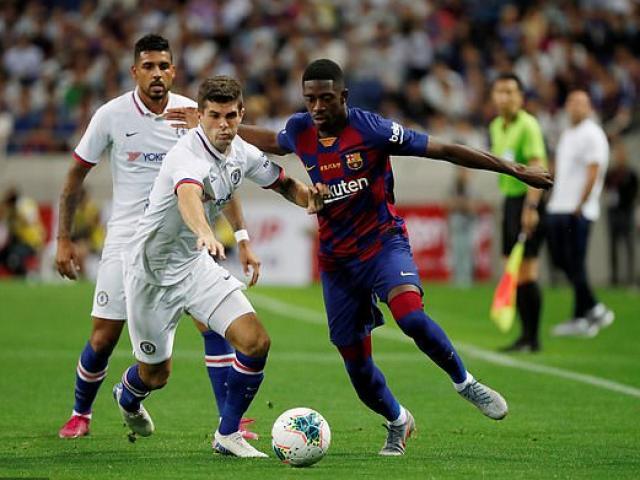Trực tiếp bóng đá Barcelona - Chelsea: Sai lầm tệ hại, bàn thắng xuất hiện