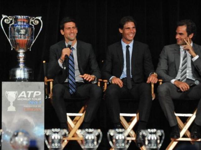 """Federer, Nadal, Djokovic kịch chiến vẫn là bạn bè: Lộ lí do """"khác người"""""""