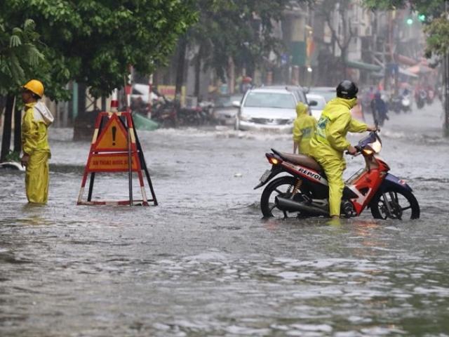 Vì sao mưa một tiếng, Hà Nội ngập cả chiều?