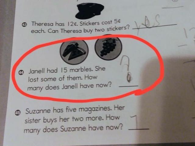 Bà mẹ trẻ chia sẻ bài toán của cô con gái 8 tuổi khiến cư dân mạng nhức óc