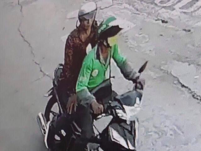 """Kề dao vào cổ tài xế xe ôm, đối tượng tháo chạy thục mạng khi bị """"phản đòn"""""""