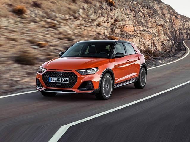 Audi A1 Citycarver 2020 thiết kế gầm cao với 09 lựa chọn màu sắc ngoại thất