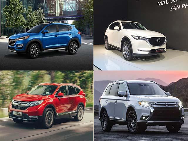 Tài chính 1 tỷ đồng nên lựa chọn những mẫu SUV gia đình nào?