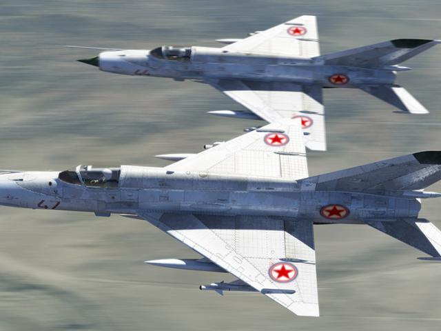 Lần hiếm hoi chiến đấu cơ Israel không chiến phi công Triều Tiên