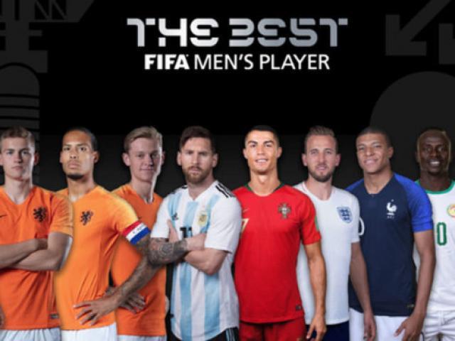 """""""Cầu thủ xuất sắc nhất FIFA 2019"""": Messi, Ronaldo đấu dàn SAO khủng"""